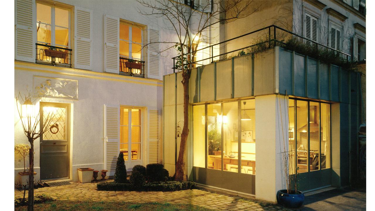 paris maisons de ville agn s cantin architecture. Black Bedroom Furniture Sets. Home Design Ideas
