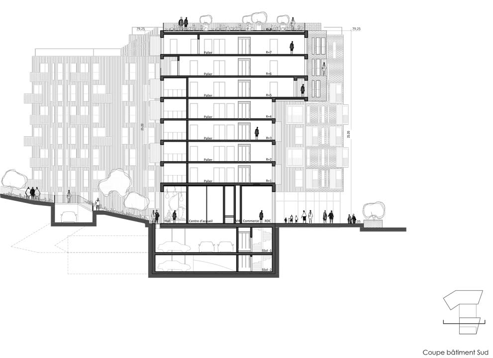 Logements archives agn s cantin architecture for Architecture des batiments